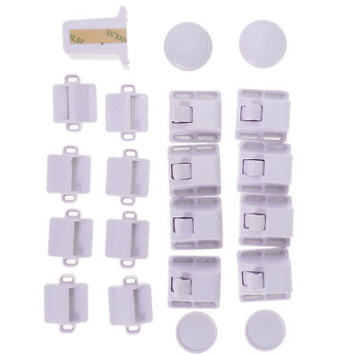Invisible Magnetic Cabinet Drawer Cupboard Locks for Baby Child Proofing  Safety