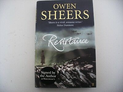 Resistance by Owen Shears, 1st edition, signed