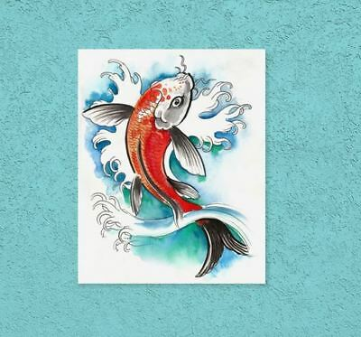 fish art beautiful & colorful animals high quality Canvas painting  Home decor