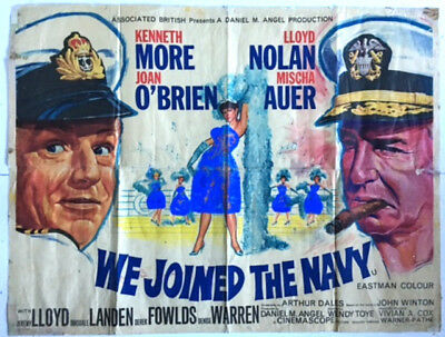 We Joined The Navy : Original Vintage Cinema Poster.