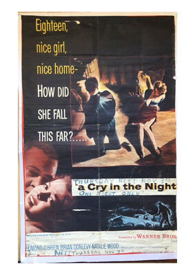 Original Vintage Cinema Poster : A CRY IN THE NIGHT