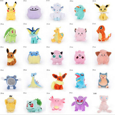 New Hot Rare Pokemon Go Pikachu Plush Doll Soft Toys Kids Gift