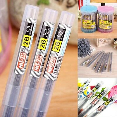 High Quality HB 2B Lead a Refill Tube 0.5 mm / 0.7 mm Automatic Pencil Lead 11CM