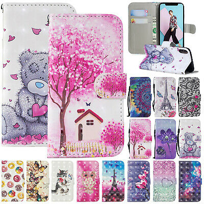 For Samsung Galaxy J4 J6 Plus 2018 Case S9 A8 Flip Leather Magnetic Wallet Cover