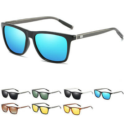 Polarized Sunglasses Aluminium Men Women Classic Driving UV400 Mirror Sunglasses