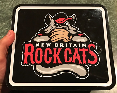 New Britain Rock Cats baseball Easter League Metal Lunchbox