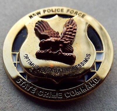 NSW Police Force pin tie tack State Crime Command Australia New South Wales
