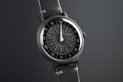 Gnomon - single handed and sundial inspired watch