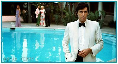 Bryan Ferry - POSTER Another Time Another Place - AMAZING Pic  - Roxy Music