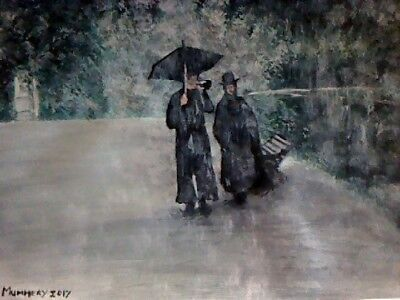 Withnail And I limited edition print of painting by Jo Mummery signed