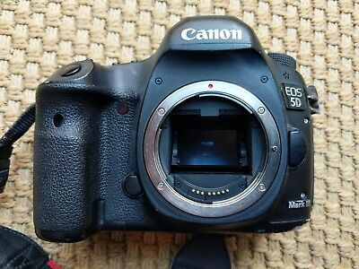 USED Canon EOS 5D Mark III 22.3MP DSLR Camera PROFESSIONALLY USED BODY ONLY