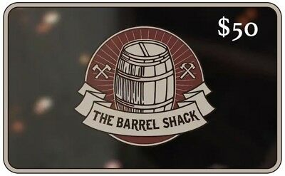 $50 The Barrel Shack Gift Card