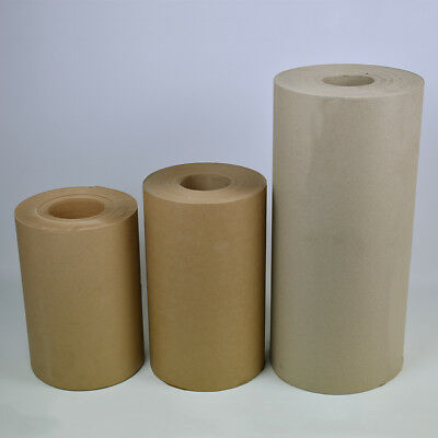 Brown Wrapping Paper/Kraft/Strong Thick Packing Posting Rolls - 300mm x 185m 85g