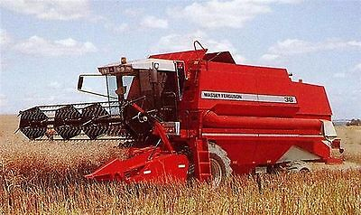 Massey Ferguson MF 38 Combine Parts Manual