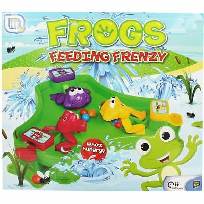 Childrens Family Hungry Frogs Marble Grab Game Like Hungry Hippos Christmas Frog