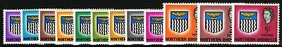 Sg 75-86 Northern Rhodesia 1963 Definatives - Short Set To 5/-  Mounted Mint*