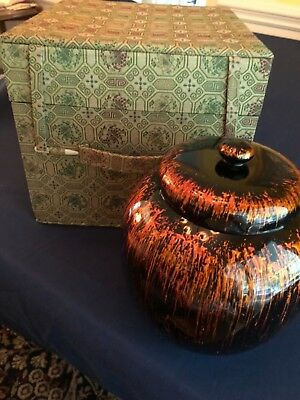 Chinese lacquer ware vessel