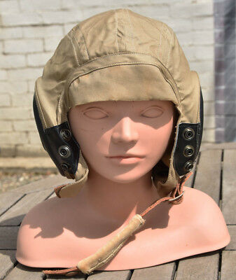 Ww Ii Cloth Summer  Flying Cap  Us Army Air Force And Navy Pilot Cap An 6542 4