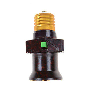 E27 Screw Base Light Holder Convert To With Switch Lamp Bulb Socket Adapter TECA