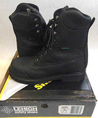 226efd574fe9 QUICKFIT Collection Lehigh Safety Shoes Steel Toe Waterproof 200g Work Boot  US 9