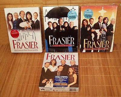 Frasier DVD Complete Seasons 1 2 3 5 First Second Third Fifth Box Sets Brand New