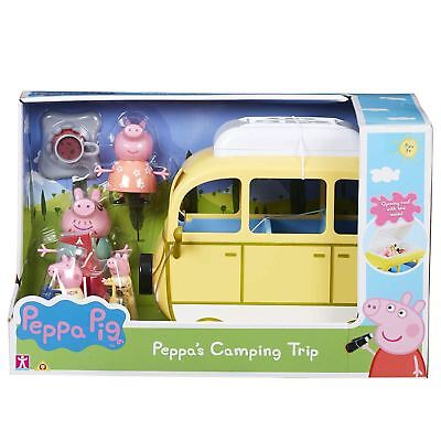 Peppa Pig 6922 Camping Trip Playset and Figures