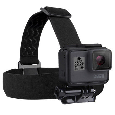 for GoPro Hero 5 4 3 SJCAM Accessories Head Strap Mount Belt Elastic Adjustable