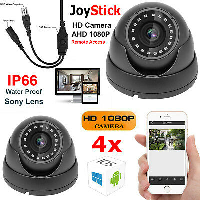 Sony 2.4Mp Cctv Dome Camera Full Hd 1080P Hight Vision Outdoor Security System