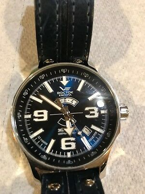 Vostok-Europe Expedition North Pole Automatic Watch with 24-hour Sub-Dial 595127