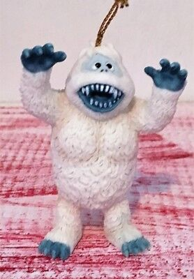 Rudolph Abominable Snowman Christmas Ornament Bumble Monster