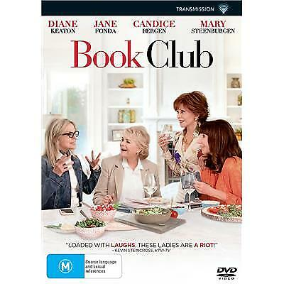 Book Club Dvd, New & Sealed, 2018 Release, Free Post