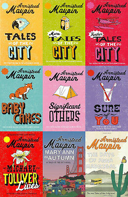 Armistead Maupin - Tales Of The City Series (9 Books Set)