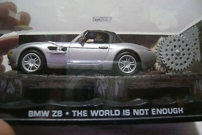 Voiture Miniature 007 Bmw Z8 The World Is Not Engugh           4318   X3