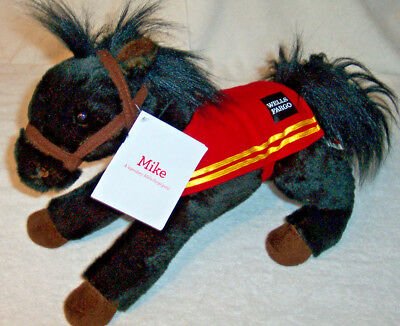 """WELLS FARGO Legendary Pony 2016 Mike 15"""" Limited Edition Plush Toy - New w/ Tags"""