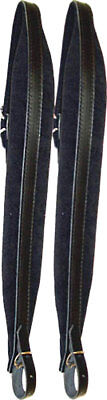 Scarlatti STRAPS FOR MELODEON /mid-size ACCORDION. Padded leather,made in Italy
