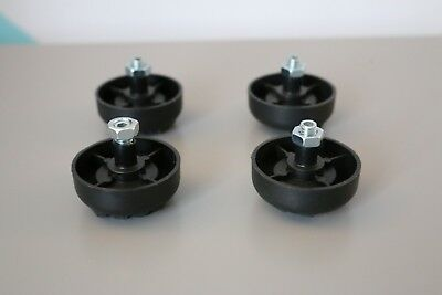 4 x Vestax pdx 2000 3000 2300 Replacement leg foot feet DJ turntable