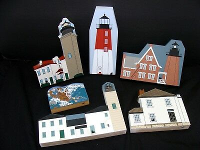 Rhode Island lighthouse village house collection - Cat's Meow lot