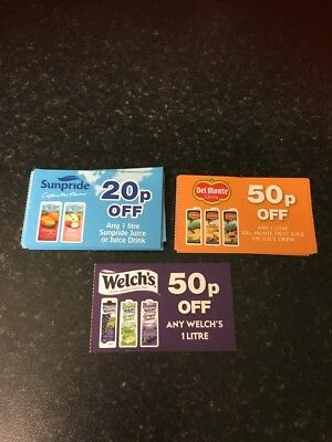 £13.10 Assorted Juice Drinks Discount Coupons - *valid until 01.01.19*