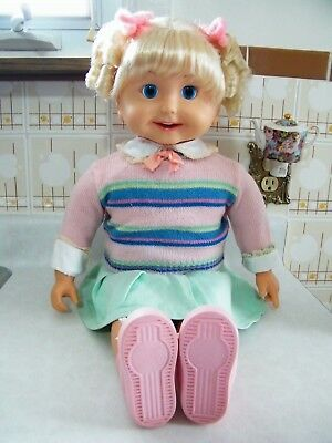 Vintage 1986 Talking Cricket Doll with Tapes - Great Condition!