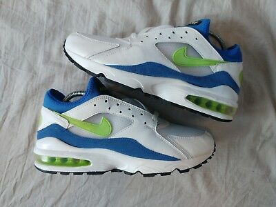 best sneakers fe235 eff75 Nike Air Max 93 Am93 Hot Lime 2005 Hoa Wmns Us10   27Cm History Of Air