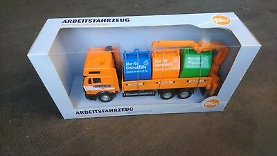 """Hongwell Toys Limited - """"Citi Cleaner"""", Arbeitsfahrzeug, Mercedes Container-LKW"""