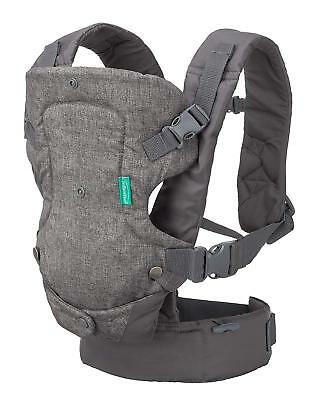 Infantino Flip Advanced 4-In-1 Convertible Carrier Gray #1482