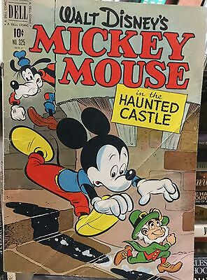 MICKEY MOUSE IN THE HAUNTED CASTLE - FC #325 - good-