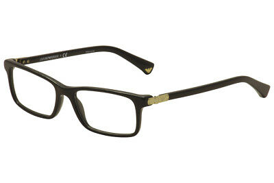 490dee00ac7 Emporio Armani Eyeglasses EA3005F EA 3005 5017 Black Full Rim Optical Frame  53mm