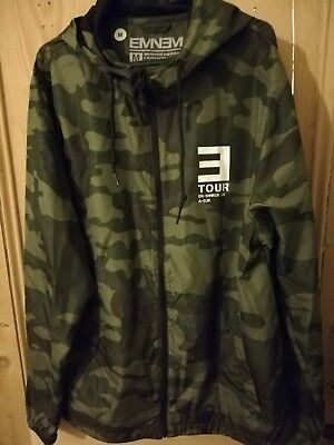 Eminem 2018 Tour Camo Windbreaker Jacket Official Merchandise