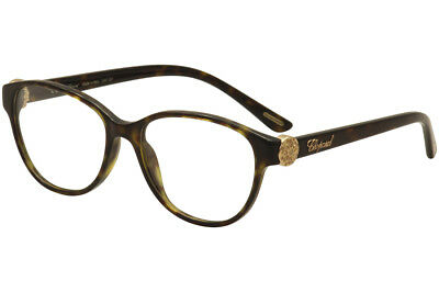 5bf49c67752 Chopard Eyeglasses VCH160S 160 S 0722 Havana 23KT Gold Plated Optical Frame  53mm