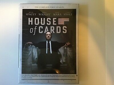 House of Cards Complete First Season -new in pkg