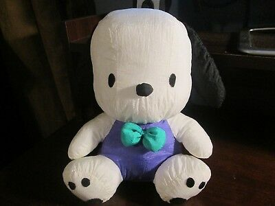 Sanrio vintage Pochacco puffalump nylon dog from Hello Kitty VHTF