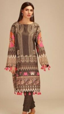 Khaadi 2piece Unstitched Suits Winter Collection 2018