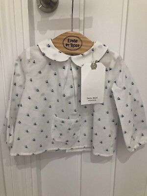 Zara Baby Girl Sailor Shirt, Brand New With Tags Size 6-9 Months